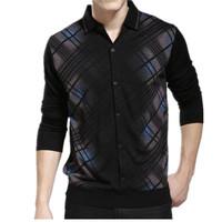 Personalized men's clothing fashion loose cardigan male long-sleeve Cardigan