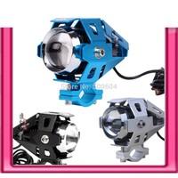 2pcs CREE 30W LED Motor fog light 12v-80v Universal Motocycle flash light Accessories & Parts Moto spotlight headlight Lighting