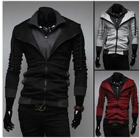 2014 hot sell !!Men's Autumn and winter cardigan Korean men's Hoodie Jacket Free shipping
