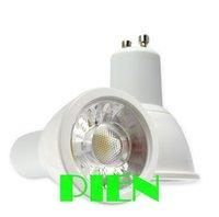 Wholesales HIGH POWER indoor lighting spot light bulb LED GU10 5W COB LED SPOTLIGHT lights 5w LED BULB by DHL 50pcs/lot