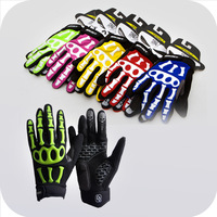Free Shipping For Road Bike Bicycle Riding Cycling Sport SPAKCT Full Finger Cycling Bicycle Skiing Skeleton Gloves/Gloves-30