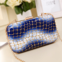 2014 New bag vintage chain messenger evening bag clutch banquet clutch bag,free shipping