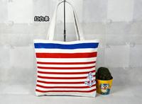 2014 new arrival canvas shoulder bag female Korean fashion tote bags women handbag student school bag free shipping