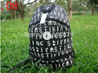 HOT !!! NEW !!! Letter LK Backpack travel Rucksacks Packsack Fashion Bags Cycling Bag Knapsack Last kings Sport Backpack Style