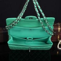 NEW lambskin luxury purse handbag genuine leather new fashion wholesale and retail brand women design chain