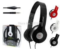 Freeshipping  Computer Headphone Noise Cancelling Microphone Headband Wired Headphone OV-X1MV