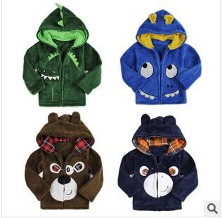 Retail 1 pcs New 2014 Cartoon Design Spring Autumn Children Outerwear Baby Boys Long Sleeve Kids Jackets & Coats Fashion CC1222(China (Mainland))