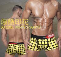 2014 Striped pants, Brand Sexy Underwear Men, Sexy Pants Men's Boxer, 12pcs/lot Elastic Body sculpting men's Underwear,Knickers