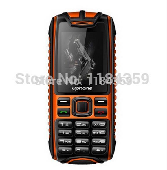 NEW Uphone-U3+ X6 Professional Outdoor Dustproof Dual Band Dual Sim Car Mobile Phone 5 Colors(China (Mainland))