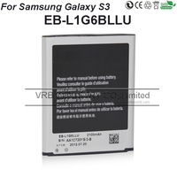 2100mAh EB-L1G6LLU cell mobile phone bateria FOR SAMSUNG GALAXY s3 battery i9300 free DHL TNT VRB factory wholesale