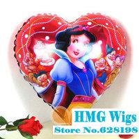 "Balloon Birthday Party Decoration princess white  You balloon Kids Cartoon Balloons Gift  10pcs/lot  18"""