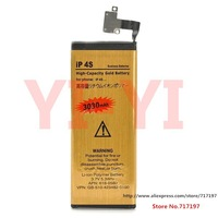 """Hot sale! Lowest,3.7V """"3030mAh"""" Actual Capacity 2000mAh Dual-cell Li-ion Battery for Iphone 4S"""