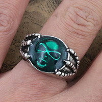 Fashion Gothic ring Agrippa soul ring for men wholesale Free shipping