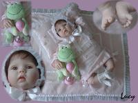 22inch/55cm Reborn Baby Dolls Silicone Vinyl Soft newborn baby Toys Hot fashion lifelike handmade doll free shipping