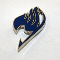Free Shipping Anime Fairy Tail Brooch Cosplay Pin metal Brooches 01