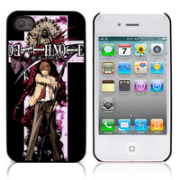 New Aluminum Metal Plate Hard Plastic Shell Cover Cartoon Death Note For Apple Iphone 4 4s 5 5s 5c Phone Case Free Shipping 15