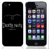 New Aluminum Metal Plate Hard Plastic Shell Cover Cartoon Death Note For Apple Iphone 4 4s 5 5s 5c Phone Case Free Shipping 14