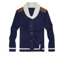 2014 High Quality Men'S Thick Plus Velvet Sweater Single-Breasted Cardigan Jacket Plus Villus Liner Fluff Knitwear Coat XG3-29