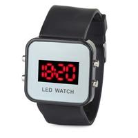 Fashion Mirror Style LED Digital Wrist Watch