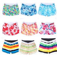 New 2014 Brand Fashion Women's Beach Swim Wear Sport Swimwear Surf Board Shorts Women Size