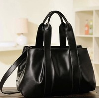 2014 women's genuine leather handbag shoulder bag fashion handbag vintagemessenger bag cowhide big bags