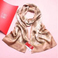 New High Quality Men's Fashion Scarf LUXURY SILK SCARVES 100% Chinese Silk Scarf scarf/shawl/wrap with Box FREE SHIPPING
