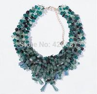 2014 brand beaded necklaces & pendants fashion choker statement necklace women brand jewelry