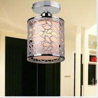 2014 Unique Outcuts Acrylic Simple Brief Stylish Chandelier Round Shape Home Lamps Aisle Balcony  Lights 5Watt 6000K& 2800K