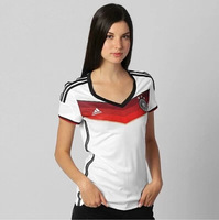 camisa alemanha femininas Camisa da equipe home jersey 2014 copa do mundo