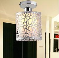 2014 Flower Prints Outcuts Acrylic Lamp shape Stylish Chandelier Round Home Lamps Aisle Balcony  Lights 5Watt 6000K& 2800K