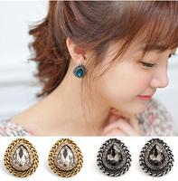 E282 Fashion small  vintage drop stud earring female all-match earings fashion jewelry women earrings