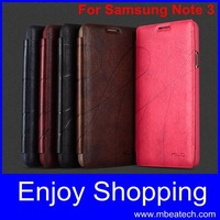free shipping 30 pcs/lot luxury leather case for samsung galaxy note 3 n9000 n9005 n900t n900a
