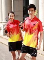 Wholesale butterfly  Badminton T-Shirt+shorts/ Table Tennis wears / Tennis sportswear /Badminton Men and Woman Clothes