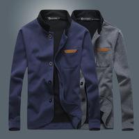 2015 new stylish men's jackets fashion individual men coats autumn winter men jackets solid  Men's Clothing>>Coats >>Jackets