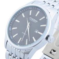 CURREN Popular Luxury Jewelry Brand Suppliers Promotion New Fashion Slim Casual Business Man Steel Quartz Watch