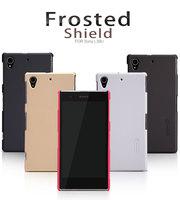 free ship Original Nillkin L39U Phone Cases for Sony Cover High Quality L39U Case with Retail Box Free L39U Screen Protector