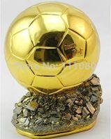 WORLD CUP SOCCER TROPHY Ballon d'Or WORLD PLAYER OF Cristiano Ronaldo