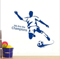 JM8261 Kids vinyl wall sticker for kids rooms home decor decals adesivos de parede stickers Sports item