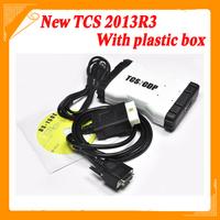 2014 New designed tcs pro plus wth led Multi-language 2013.3 version for car&truck + Plactis box Free shiping