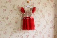 NEW - wholesale ! girls sequins gauze tutu dress , girl dress princess ,  5pcs/lot