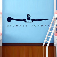 [Black White]Free shipping Drop shipping Wall stickers Wall decal Wall paper  PVC stickers basketball sport  L-1800