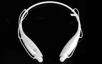 High quality Wireless Bluetooth Universal Stereo Headset for HBS 730 Black white free shipping