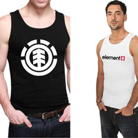 New Arrival Skateboard Element Men Tank Tops Fashion Cotton Mens Tanks Free Shipping Wholesale And Retail