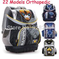 22Models Fashion Boys School Bags Children Orthopedic Backpack Cartoon Bookbag Big Mochila Escolar Primary Students Satchel 1-6