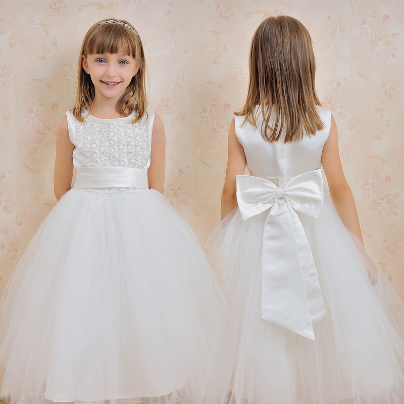white graduation dresses for kids Promotion