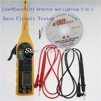 Diagnostic tool car battery voltage tester  Electricity Detector  3 in 1 can auto test  electronic components with free shipping