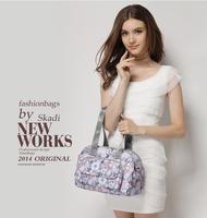 Summer sale POP women's floral messenger bags with removable long shoulder strap 2 main compartment on top 17 colors B71