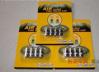 400pcs Car Tyre Tire Pressure Monitor Indicator Valve Stem Cap Sensor 3 Color Eye Alert