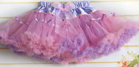 lovely girls princess skirt kids tutu bowkont skirts cute ball gown girls skirt colorful children pettiskirts cd23-21