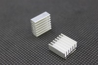 Raspberry PI model B plus Heat Sink Kit - 2PCS Raspberry PI Pure Aluminum Heat Sink Set Kit Free Shipping(2 PCS,2xAluminum)RP007